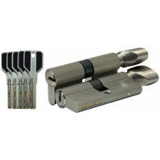 Цилиндровый механизм LIVGARD CW70 перфо.ключ-вертушка SN Матовый никель