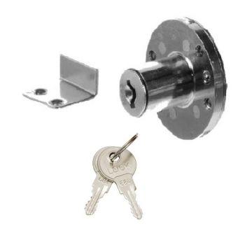 Замок мебельный MAXI Locks FL109 CP Хром